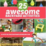 25 Awesome Backyard Activities