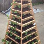 How To Build A Vertical Garden Pyramid Tower