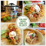 Slow-Cooker Shredded Chicken Tacos and Burritos