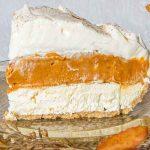 No Bake Triple Layer Pumpkin Pie Recipe