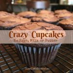 Crazy Cupcakes – No Eggs, Milk Or Butter