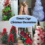 Tomato Cage Christmas Decorations