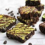 Marbled Mint Cheesecake Brownies