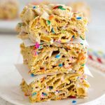 Funfetti Marshmallow Cereal Bars
