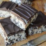 No Bake Chocolate Chip Cookie Dough Bars