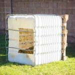 DIY COMPOST BIN [FROM A WATER TANK]