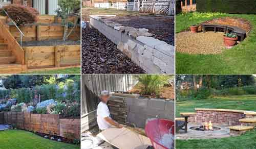 20 Inspiring Tips For Building A Diy Retaining Wall Lil