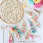 Tunisian Feathers Free Pattern