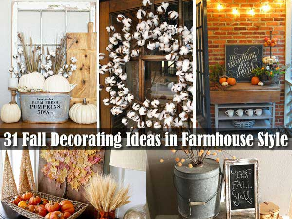 38 Fall Decorating Ideas In The Style Of Farmhouse Lil