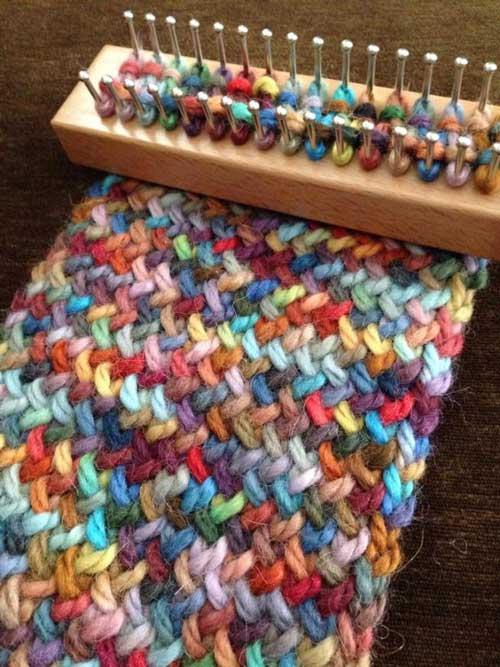 Loom Knit Infinity Scarf Lil Moo Creations