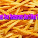 Fact of the day: 25 Things Fast Food Restaurants Don't Want You To Know