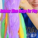 Rainbow Slime Recipe for Play