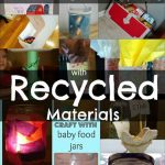 Learning & Playing with Recycled Materials