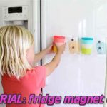 TUTORIAL: fridge magnet cups