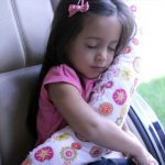 DIY Travel Seat Belt Pillow For Kids – Tutorial!