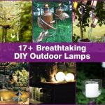 17+ Breathtaking DIY Outdoor Lamps