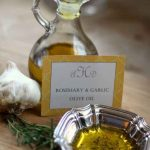 How to make Rosemary & Garlic Infused Olive Oil