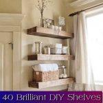 40 Brilliant DIY Shelves