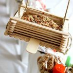 Craft Stick Bird Feeder