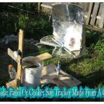 DIY Solar Panel Or Cooker Sun Tracker Made From A Clock