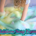 Rainbow Soap Foam