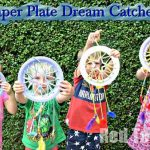 Paper Plate Dream Catchers