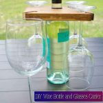 DIY Wine Bottle and Glasses Carrier
