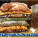 8 Easy Crock Pot Freezer Meals