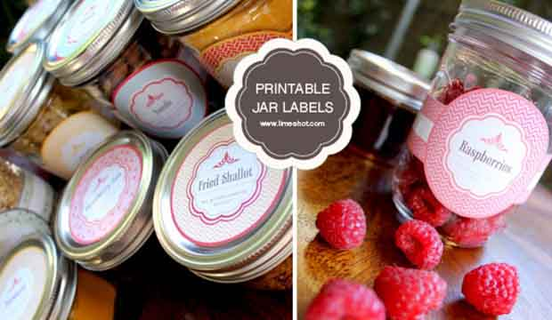 photograph about Free Printable Mason Jar Labels identified as Cost-free Printable Mason Jar Labels