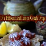 DIY Hibiscus and Lemon Cough Drops