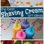 10 Shaving Cream Art Ideas