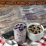 DIY Instant & Healthy Oatmeal packets