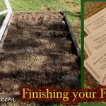 Finishing your Fall Planting