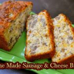 Home Made Sausage & Cheese Bread