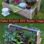 Pallet Project: DIY Rustic Trugs