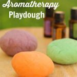 Home Made Aromatherapy Playdough