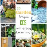 20 Fun Gardening Projects to do with kids