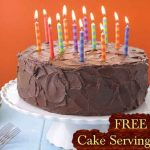 Get Your FREE Printable Cake Serving Chart!