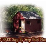 25 FREE Step By Step Shed Plans