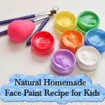 DIY: Natural Homemade Face Paint Recipe for Kids