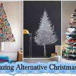 18 Amazing Alternative Christmas Trees
