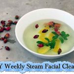 DIY Weekly Steam Facial Cleanse