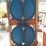 DIY Vertical 3 Drum Rain Collection System