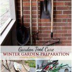 Winter Garden Prep: Tool Care