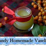 Handy Homemade Vaseline