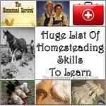 Huge List of Homesteading Skills to Learn