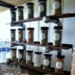 Make an Easy Industrial Spice Rack!