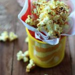 Homemade Spicy Curry Popcorn