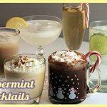 Peppermint Liqueur Cocktails