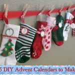 35 DIY Advent Calendars to Make